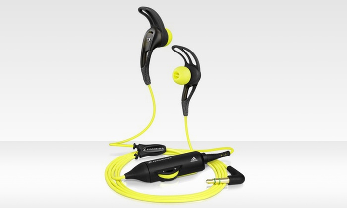 Sennheiser CX 680 EarFin Sports Earbuds: Sennheiser CX 680 EarFin Sports Earbuds (Refurbished)
