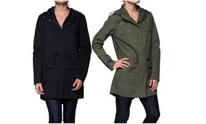 Women's Hooded Combat 4-Pocket Jacket: Women's Hooded Combat 4-Pocket Jacket