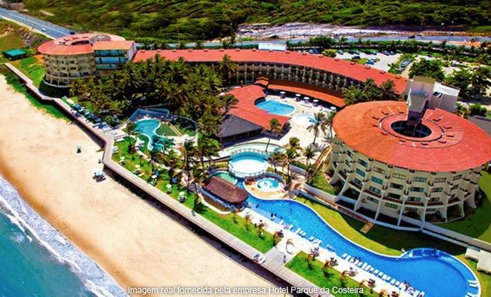 Natal/RN: até 7 noites p/ 2 + café da manhã e late check-out no Hotel Parque da Costeira.