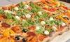 Mezzo metro di pizza in costiera