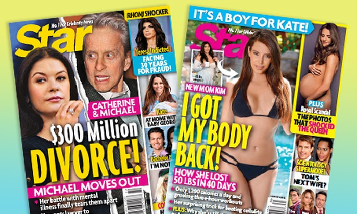 """""""Star"""" Magazine: $29.99 for a One-Year Subscription to """"Star"""" Magazine ($78 Value)"""