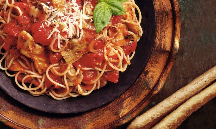 Capatosta - Manhattan: $43 for an Upscale Italian Dinner for Two with Appetizer, Entrees, and Wine at Tre Stelle (Up to $100 Value)