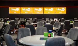 Bingu: Cena y bingo con copa, degustación de 6 platos, postre, café, bebida, combinado y 4 cartones desde 19,90€ en Bingu
