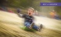 One Hour of Tobogganing with Optional Chips and a Drink for Up to Four Kids at Mendip Snowsport Centre (Up to 53% Off)