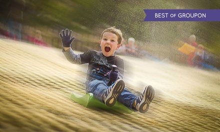 One Hour of Tobogganing for Up to Four Kids at Mendip Snowsport Centre (Up to 53% Off)
