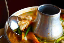 Vulcan Thai Cafe: $1 Buys You a Coupon for Free Thai Iced Coffee With Purchase Of Any Entree Over $12 at Vulcan Thai Cafe