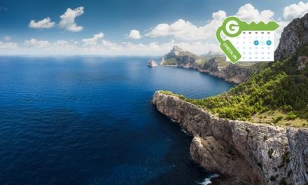 Mallorca: estancia para 2 con desayuno, spa y opción a botella de cava, media pensión o menú en Hotel Mar de Portals 4*