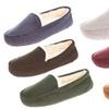 Floopi Women's Indoor/Outdoor Fur Moccasin Slippers with Memory Foam