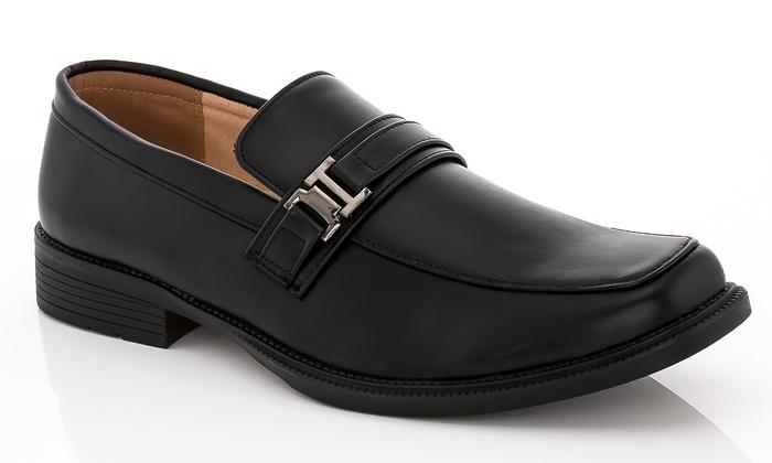 Franco Vanucci Men's Slip-On Dress Shoes (Size 9)