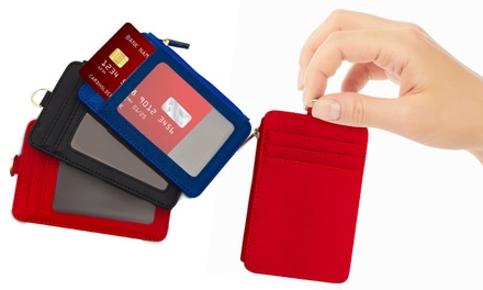 Card Holder Wallets with Lanyard