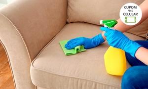 Clean Clear: Lavagem e higienização de sofá com a Clean Clear