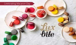 LuxBite: Box of 12 ($18) or 16 Macarons ($22) from LuxBite, Two Locations (Up to $40 Value)