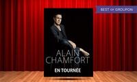 1 place pour le concert dAlain Chamfort le samedi 1er avril 2017 à 20h30, à 29 € à Peronne à LEspace Mac Orlan