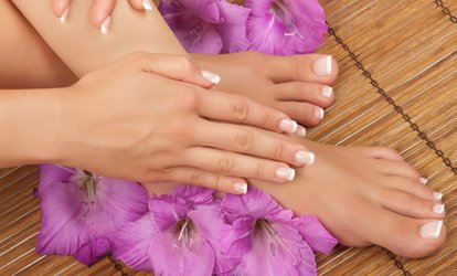 Mini Manicure, Pedicure, or Both with Gel at Number 10 Massage and Beauty (Up to 47% Off)