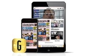 Gazzetta Gold: Abbonamento fino a 24 mesi a Gazzetta Gold, la versione digitale de La Gazzetta dello Sport (sconto 75%)
