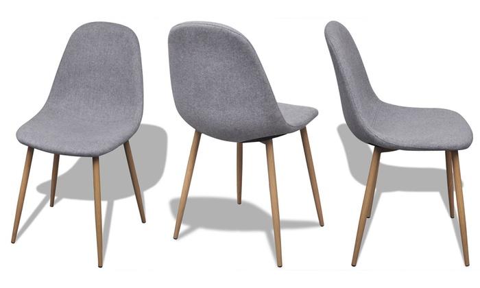 Set di 4 sedie senza braccioli Oem | Groupon Goods