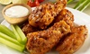 Hurricane Grill & Wings-Fort Myers - OOB - Hurricane Grill & Wings: Wings, Burgers, and Tacos at Hurricane Grill & Wings (46% Off). Two Options Available.