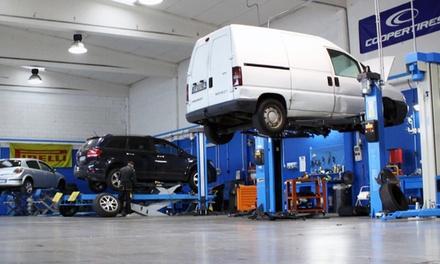 Tagliando auto, lavaggio, cambio gomme e bilanciatura all'officina Centro Auto Serviane (sconto fino a 72%)