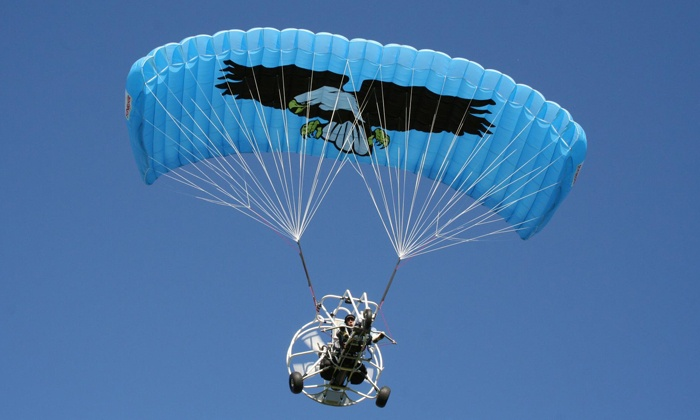 Why Fly Inc - Vernon Township: Introductory Powered Parachute Flight for One or Two from Why Fly Inc. (50% Off)