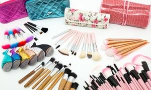 Sélection pinceaux maquillage pro