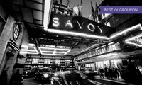 Decadent Dessert and Cocktail Experience with Optional Dinner at The Savoy (Up to 42% Off)