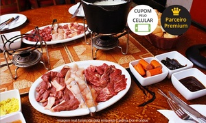 Cantina Don Fondue: Cantina Don Fondue – Asa Norte:sequência de fondue doce e salgada para 2 (opção de fondue doce pode ser repetida)