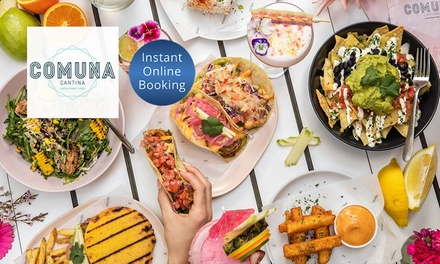 $24 or $49 to Spend on Latin American Food and Drink at Comuna Cantina Brisbane