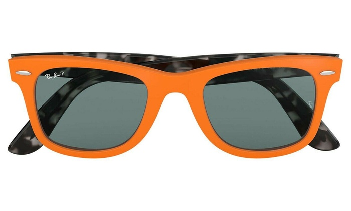 ray ban clubmaster orange frame