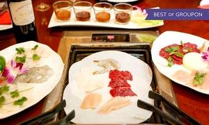 """SJ Thaï: Menu """"Barbecue"""" avec entrée, plat et dessert pour 1 personne à 24 € au restaurant SJ Thaï"""
