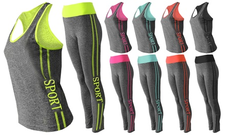 Womens Two-Piece Gym Suit