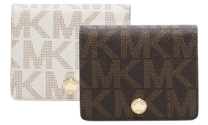 michael kors wallet groupon