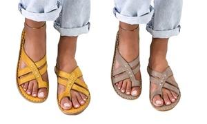 Sandales anti-oignon, lanières croisées, plusieurs tailles disponibles