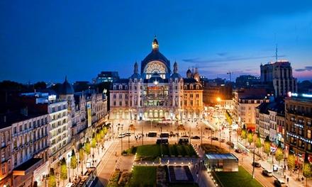 Antwerpen: 1-3 nachten voor twee bij 4* The Plaza Hotel in een superior kamer met late check-out, naar keuze met ontbijt