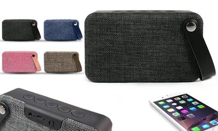 Altavoz con Bluetooth Soundz Fabric