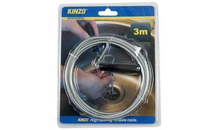 Kinzo Abflussreiniger, 3 m (75% sparen*)