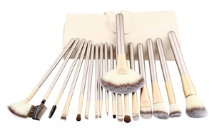 Professional Champagne Makeup Brush Set (12-, 18-, or 24-Piece) at Professional Champagne Makeup Brush Set (12-, 18-, or 24-Piece), plus 6.0% Cash Back from Ebates.