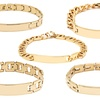18K Gold-Plated Stainless Steel ID Bracelets