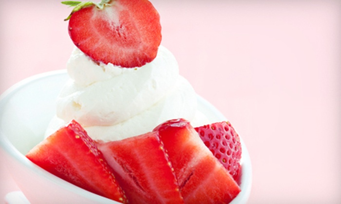 Love In A Cup - Colliseum Central: Frozen Yogurt at Love In A Cup (Half Off). Two Options Available.