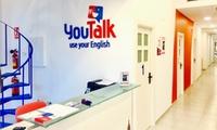 1 o 3 meses de clases de inglés para niños o adultos desde 29,90 € en 2 centros YouTalk