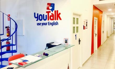 1 de clases de inglés para niños o adultos desde 29,90 € en 2 centros YouTalk