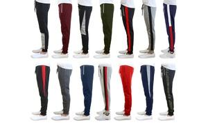 Men's Fleece Slim-Fit Jogger Sweatpants Mystery Deal