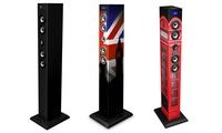 Torre speaker Big Ben Bluetooth disponibile in 3 modelli