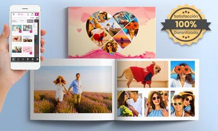 1 o 2 fotolibros de tapa dura formato A4 o A5 con PrinterPix (hasta 92% de descuento)