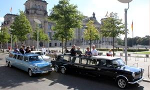 Trabi XXL: Private Stadtrundfahrt in Trabant Stretchlimousine durch die Berliner City für bis zu 5 Personen (35% sparen*)