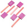 3D Magnetic Plate Set for Nail Polish and Nail Art Pen (5-Piece)