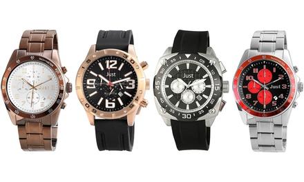 Chrono Quartz Stainless Steel Watch