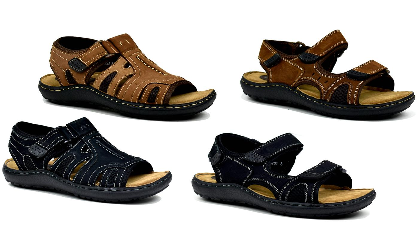 Men's Closed Summer Strappy Sandal