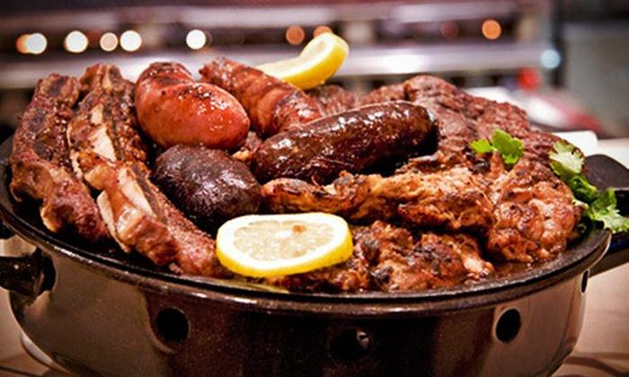 Parrillada el Gaucho - Miramar: Uruguayan Steak-House Cuisine for Dinner at Parrillada el Gaucho (Up to 53% Off). Two Options Available.