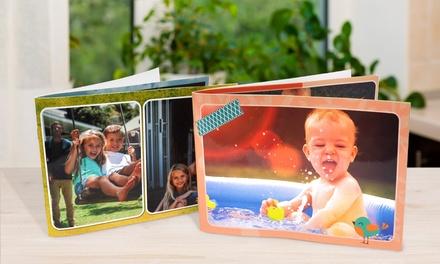 Livre photo personnalisable en format A5 de 20 pages avec Photobook Shop à 1 € (93% de réduction)