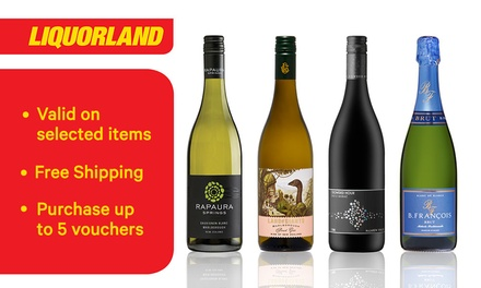 $10 for $100 ($199 Min. Spend) to Spend on Liquor at Liquorland - selected items only